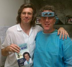 Hair transplant doctor Peter Hadjuk